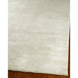 Safavieh Loom-knotted Mirage Ivory Viscose Rug (8' x 10')
