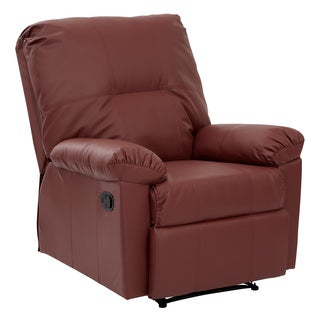Kensington Eco-friendly Leatherette Recliner with Solid Wood Legs