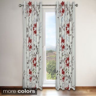 Famous Home Reni Grommet Top 95-inch Curtain Panel Pair