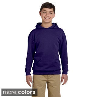 Youth 50/50 NuBlend Fleece Pullover Hoodie