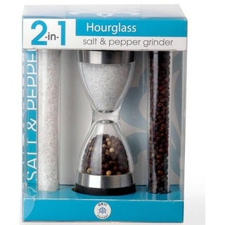 Orii 2-in-1 Hour Glass Salt and Pepper Grinder