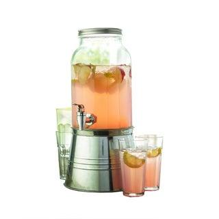 Style Setter Newport 6 Piece Beverage Dispenser Set