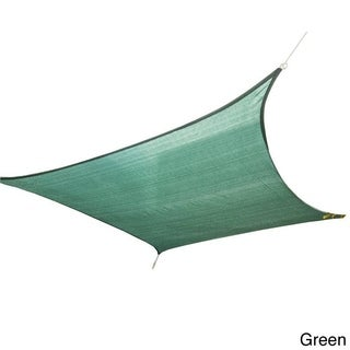 """Cool Area Sun Shade Sail Patio Shade (9'10"""" x 13')"""