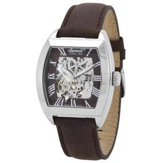 Ingersoll Men's 'Nebraska' Classic Brown Leather Watch