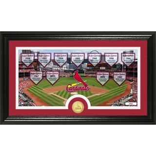 MLB St. Louis Cardinals Traditions Bronze Coin Panoramic Photo Mint