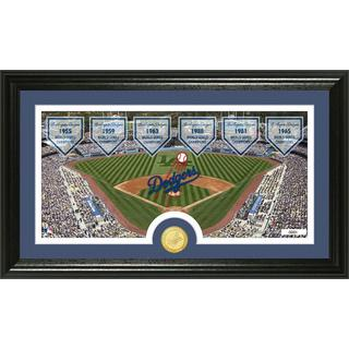 MLB Los Angeles Dodgers Traditions Bronze Coin Panoramic Photo Mint