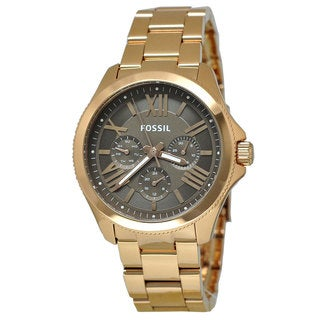 Fossil Women's AM4533 'Cecile' Rose Goldtone Watch