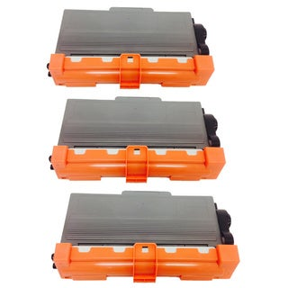 Compatible Brother TN750 Toner Cartridge HL-6180DWT, MFC-8510DN, MFC-8710DW, MFC-8910DW, MFC-8 (Pack of 3)