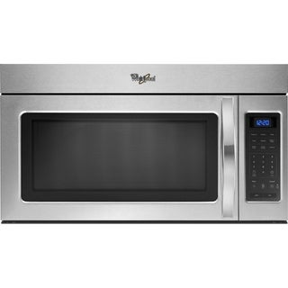 Whirlpool 1.7-cubic foot Stainless Steel Over-the-Range Microwave