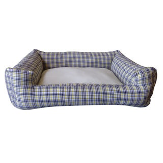 Plaid Multi Small Chill Pet Bed