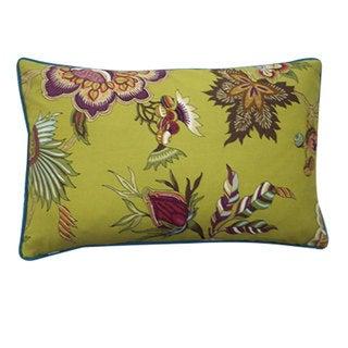 Jazmine Plum Decorative Throw Pillow