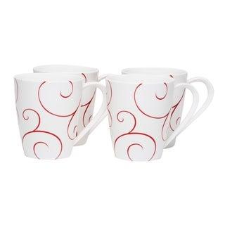 Red Vanilla Panache Rouge Mug (Set of 4)