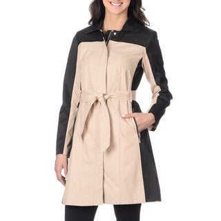 Vince Camuto Women's Colorblock Trench