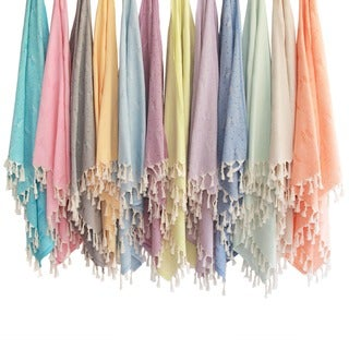 Authentic Pestemal Fouta Butterfly Turkish Cotton Bath and Beach Towel