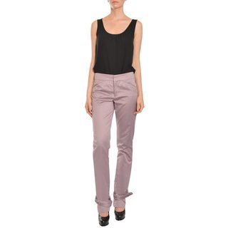 Emanuel Ungaro Women's Tapered Leg Trousers Pants