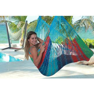 Savannah Thick Cord XL Mayan Multicolor Chair Hammock (Mexico)
