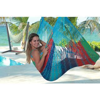Savannah Thick Cord XL Mayan Multicolor Chair Hammock (Mexico)