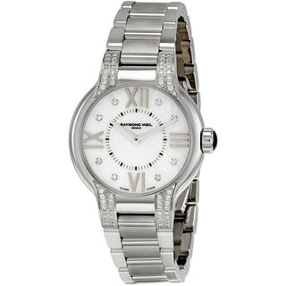 "Raymond Weil Women's 5932-ST-00995 ""Noemia"" Stainless Steel Diamonds Watch"