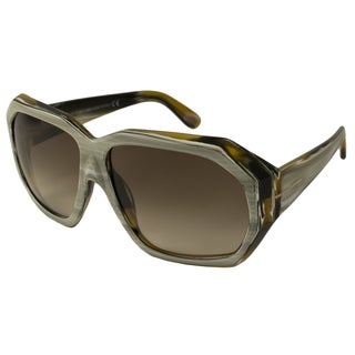 Tom Ford Women's TF0266 Elise Rectangular Sunglasses