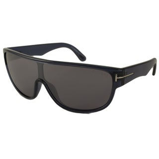 Tom Ford Men's TF0292 Wagner Shield Sunglasses