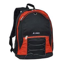 Everest Two Tone Backpack 3045SH Rust Orange/Black