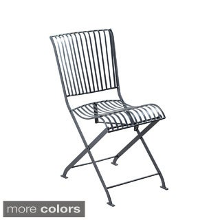 Hand-crafted Betty Steel Folding Chair (India)