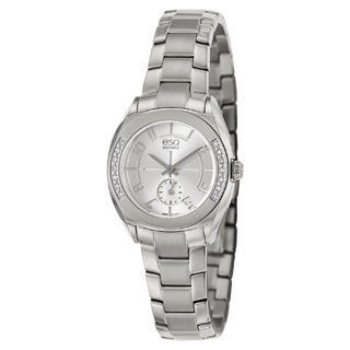 ESQ by Movado Women's 07101424 Origin Stainless Steel Case Silver Dial Watch