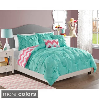 Chelsea 4-piece Reversible Comforter Set