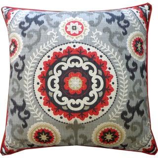 Jiti Soul Black Throw Pillow