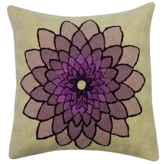 Jiti Spin Purple Throw Pillow