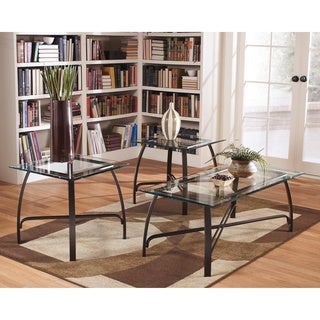 Signature Designs by Ashley Liddy Medium Bronze 3-piece Occasional Table Set