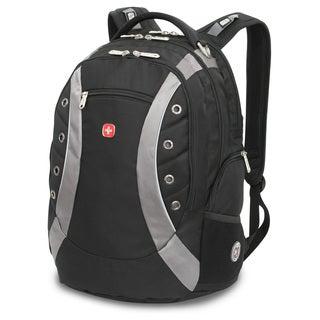 SwissGear 15-inch Black/ Grey Laptop Backpack