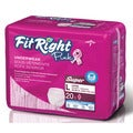 Medline FitRight Women's Pink Protective Underwear