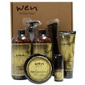 Wen Sweet Almond Mint 5-piece Hair Care Kit