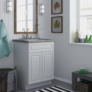 Altra 24-inch White Bathroom Vanity Cabinet