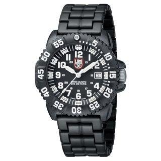Luminox Men's 3052 Navy Seal Colormark Black/ White Watch