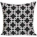 Taylor Marie Chain Link Black Pillow Cover