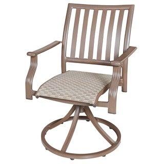 Panama Jack Island Breeze Swivel Rocking Dining Chair (Set of 2)