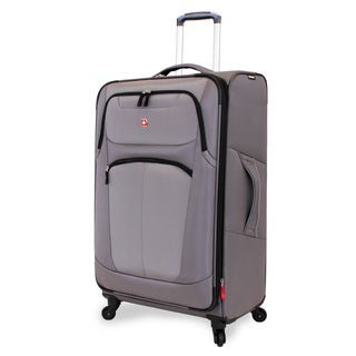 Wenger NeoLite Plus Grey 29-inch Large Spinner Upright Suitcase