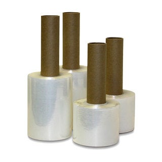 Extended Core Shrink Wrap Stretch Banding Film Rolls (3 inches x 1000 feet) (Pack of 18)