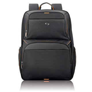 Solo Urban Black 17.3-inch Laptop Backpack