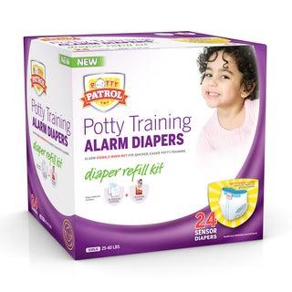 Potty Patrol Alarm Diapers Girls Refill Kit