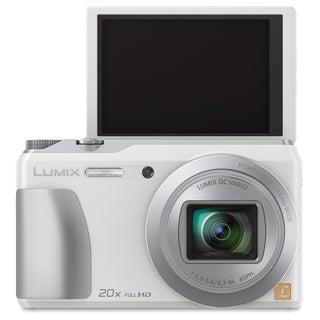 Panasonic Lumix DMC-ZS35 16 Megapixel Compact Camera - White