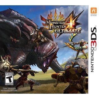 Nintendo 3DS - Monster Hunter 4 Ultimate