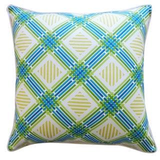Argyle Green Pillow
