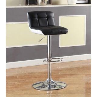 Furniture of Amercia Brewser Adjustable Swivel Leatherette Bar Stool
