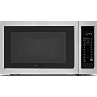 KitchenAid Stainless Steel 2.2 Cubic Feet Countertop Microwave