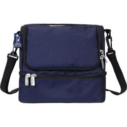 Wildkin Whale Blue Double Decker Lunch Bag