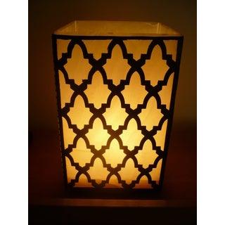 Hand-crafted Egyptian Alabaster Zamalek Lamp (Egypt)