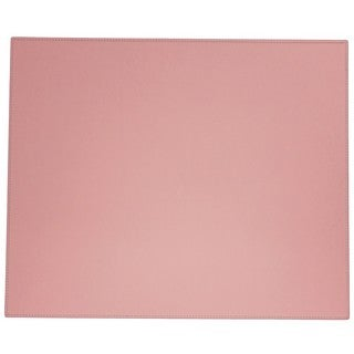 Cameo Pink Faux Leather Table Mat